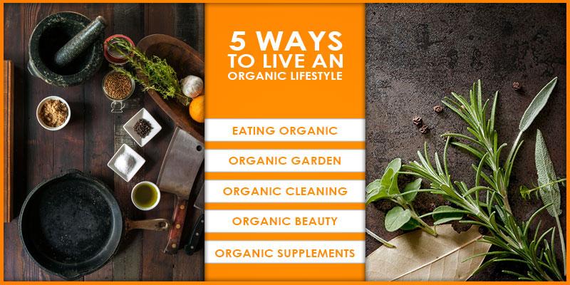Live an Organic Lifestyle