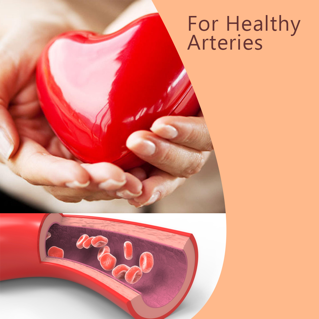 """""""Do what it takes to start to have a healthy artery and heart""""- Start with Artemin"""