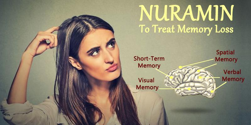 Improve memory loss with Nuramin