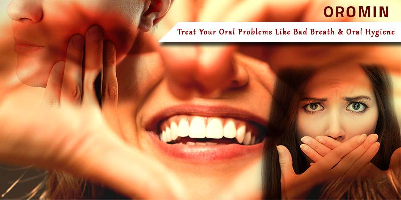 Good oral hygiene with curcumin in oromin