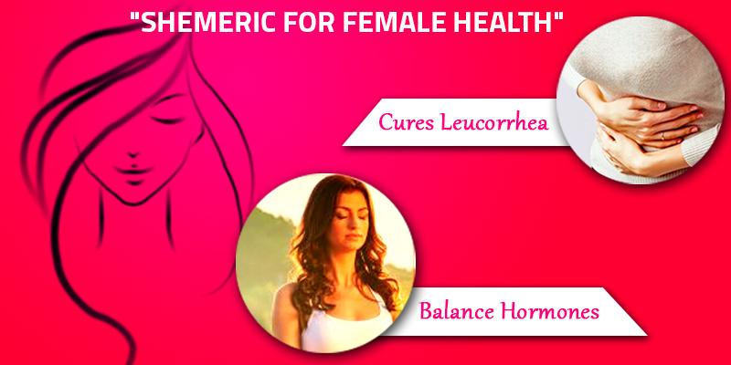 CURCUMIN BOOSTS FEMALE HEALTH: SHEMERIC A MUST FOR ALL WOMEN