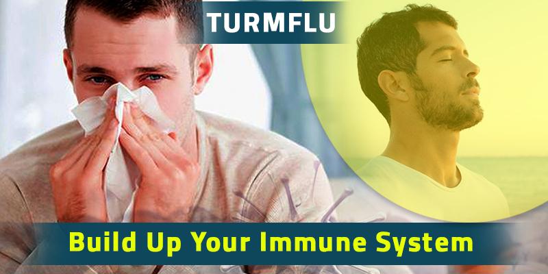 Beat seasonal flu with turmflu