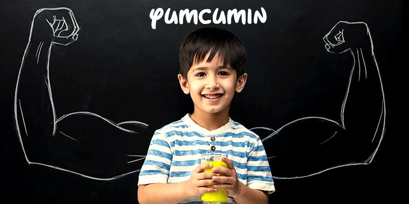 Yumcumin to boost immune system in children