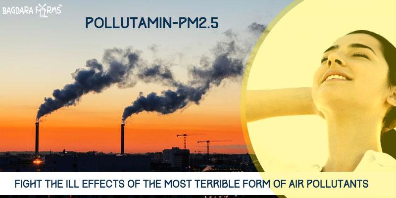 Pollutamin-PM2.5 for air pollution