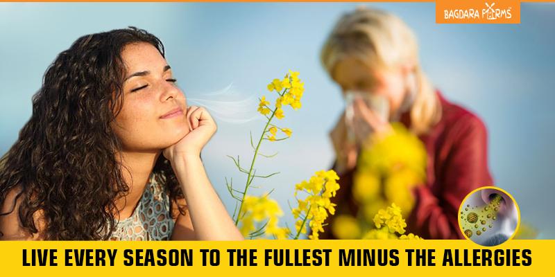 Pollen allergy , seasonal disease , spring sickness , immune system response , allergies
